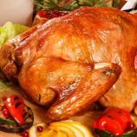 Cuban Style Turkey & Gluten Free Black Bean and Rice Stuffing