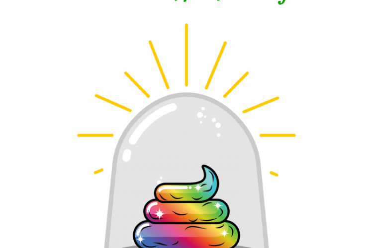 Do you smell like poop - what you need to know about body odor written above a rainbow poop