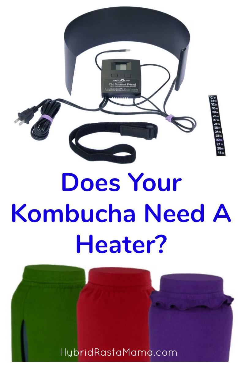 Kombucha Heater and Kombucha T Shirts