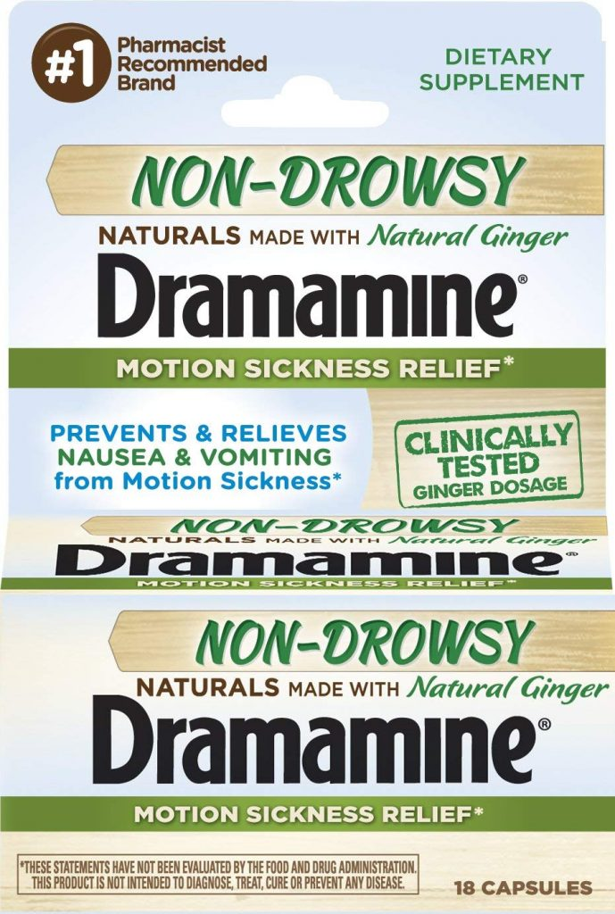 Dramamine Non Drowsy Naturals