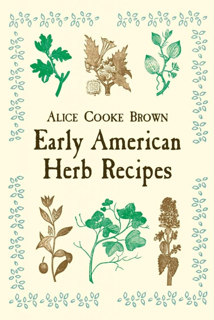 Early American Herb Recipes book cover