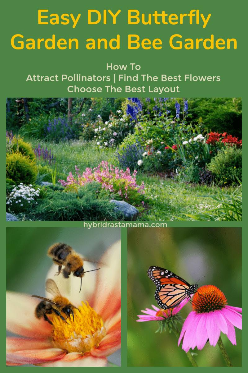 A beautiful pollinator garden