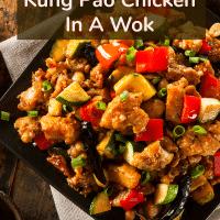 Easy Gluten Free Kung Pao Chicken In A Wok