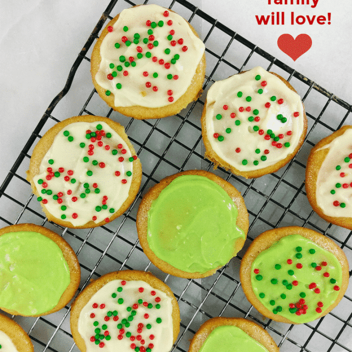The Best Gluten Free Sugar Cookies With Frosting