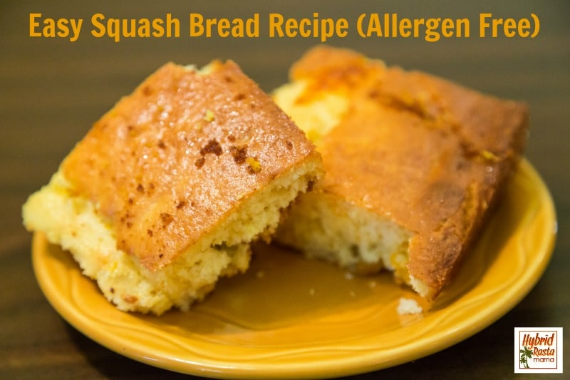Still have an abundance of squash? Wondering what to do with it? I have the solution & it is a yummy squash bread! This makes a fabulous side dish or treat! From HybridRastaMama.com