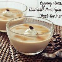 Eggnog Mousse