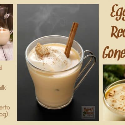 Eggnog Recipes Gone Wild