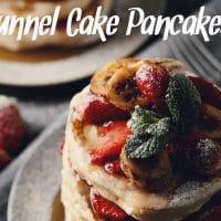 Funnel Cake Pancakes