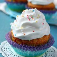 Funfetti Cupcakes (Gluten Free, Vegan)