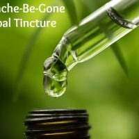 Headache Be Gone Herbal Tincture
