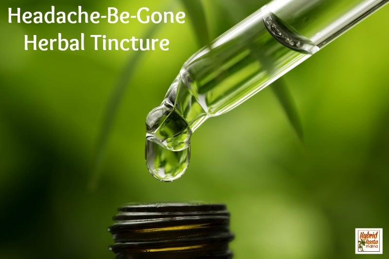 Natural Headache Relief With An Herbal Headache Tincture