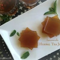 Homemade Herbal Tea Jello