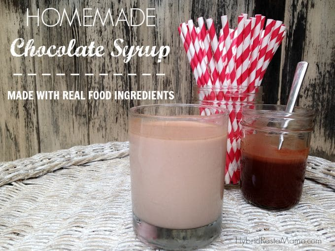 Homemade Real Food Chocolate Syrup Recipe For The Kid In All Of Us from HybridRastaMama.com