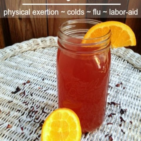 Homemade Tropical Electrolyte Drink