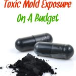 Activate charcoal capsules used to recover from toxic mold