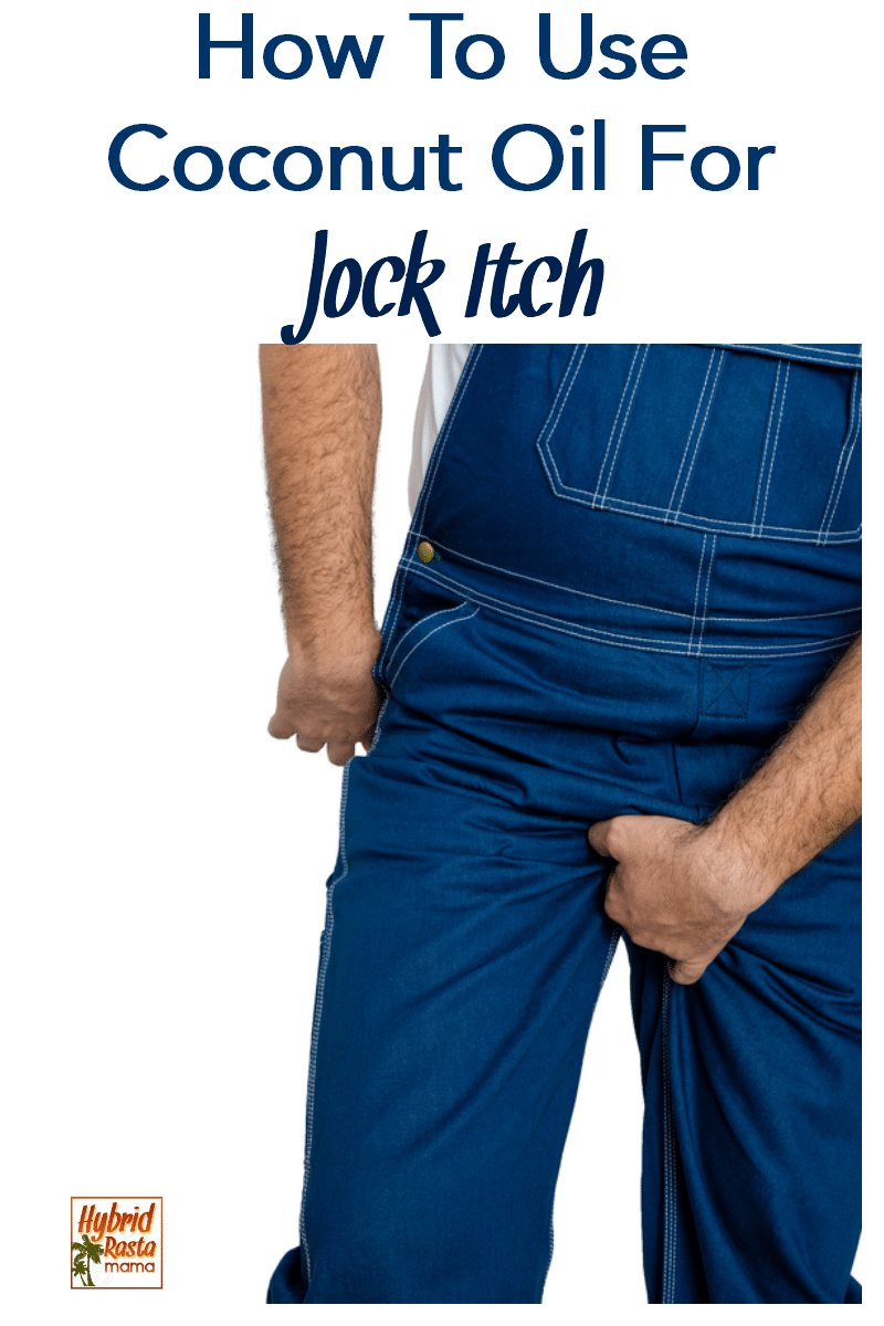 A man with jock itch grabbing his crotch.