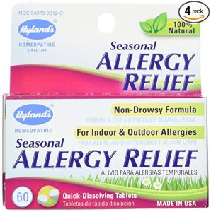 Natural allergy relief - hylands tablets