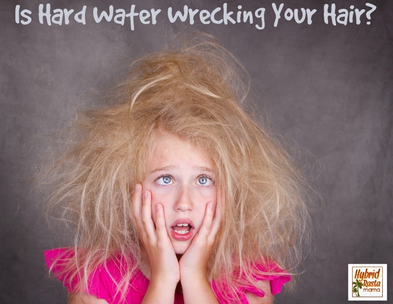 Is Hard Water Wrecking Your Hair? from HybridRastaMama.com