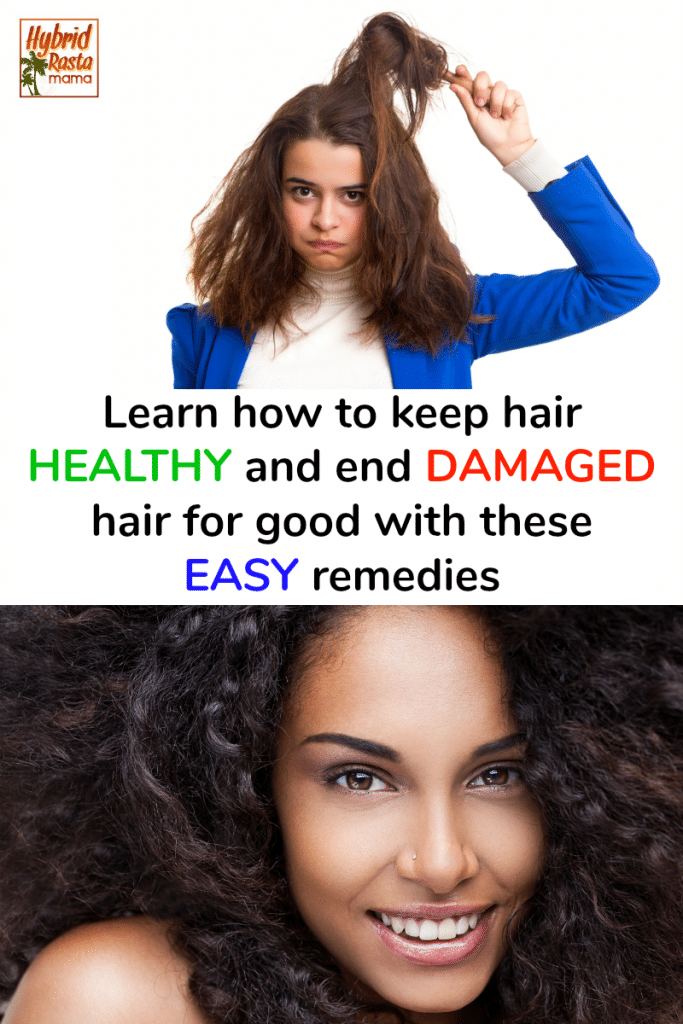 A woman with damaged hair wondering how to keep hair healthy.