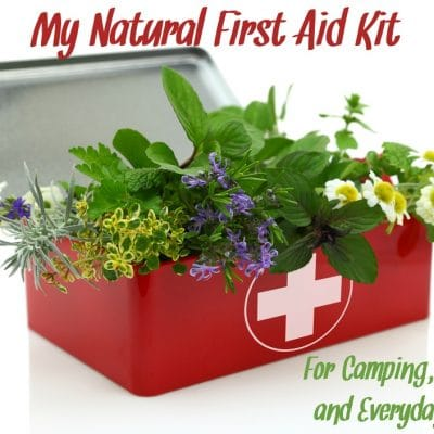 My Go-To Natural First Aid Kit Supplies