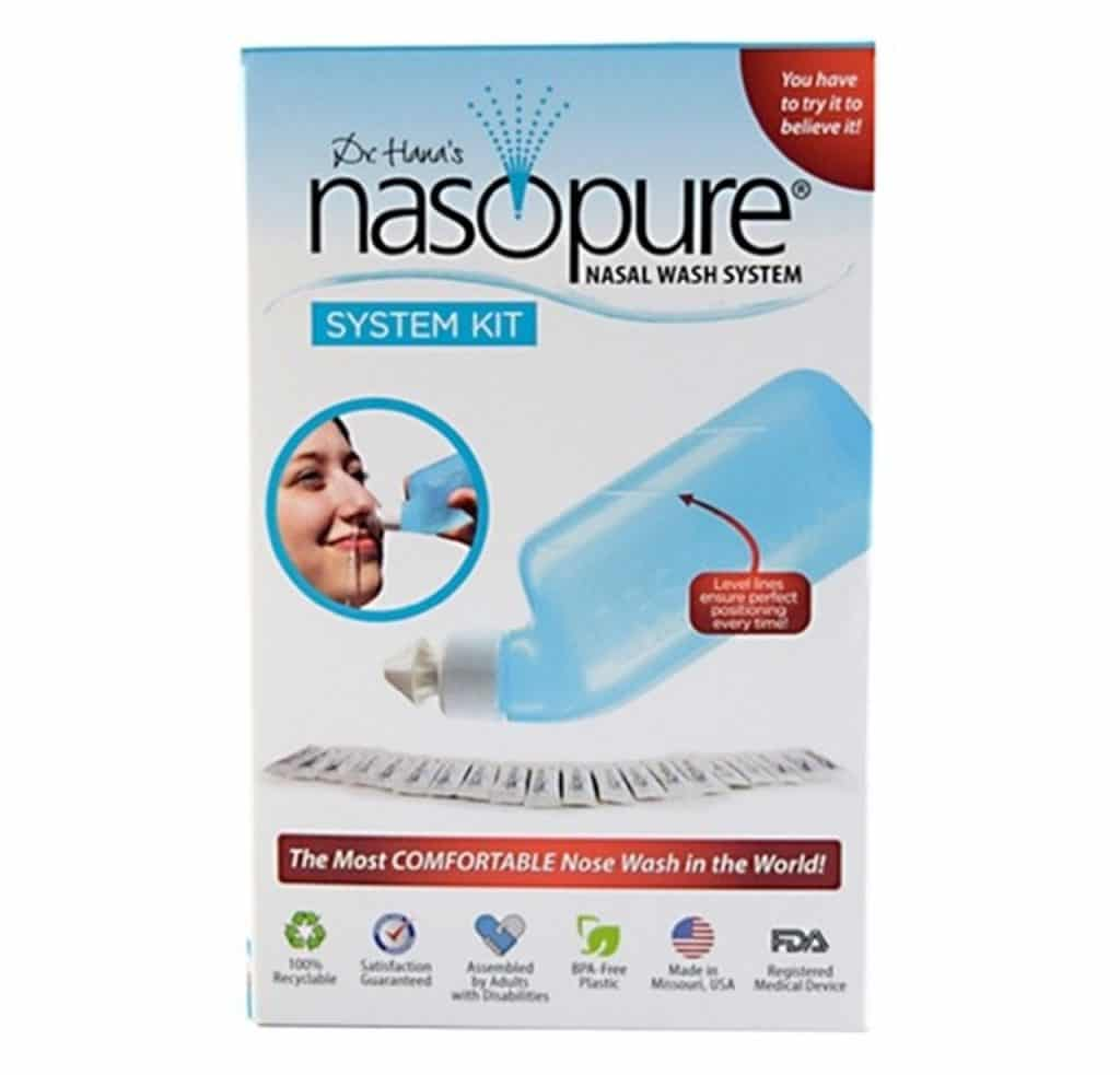 Nasopure Sinus Rinse