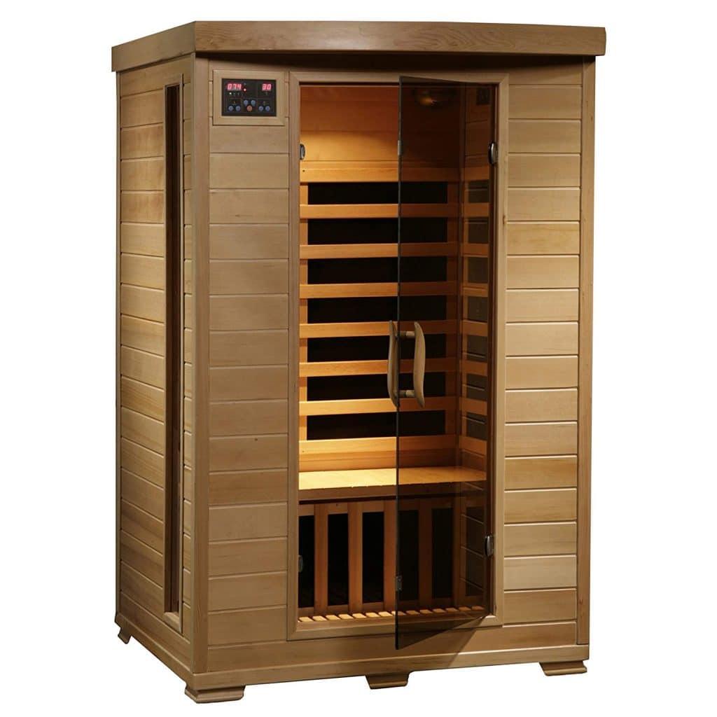 Near infrared sauna for mold detox