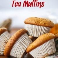 Nourishing Chai Tea Muffins & Allergen Free Chai Tea Muffins