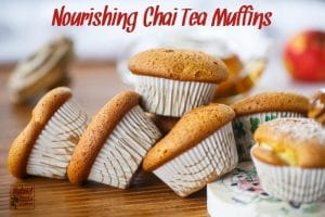 Chai tea comes together with a nourishing breakfast cupcake to create Chai Tea Muffins! Free of common allergens, your entire family will gobble these up! From HybridRastaMama.com.
