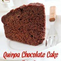 Quinoa Chocolate Cake – Gluten Free