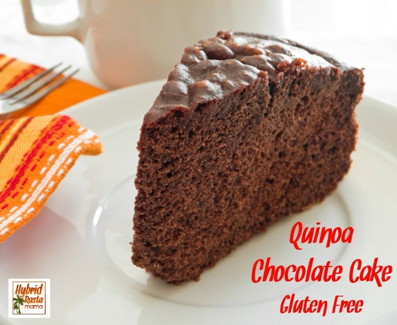 Who doesn't love a rich, chocolatey treat? As far as desserts go, this quinoa chocolate cake is one of the healthiest ones I make. Delicious & nutritious from HybridRastaMama.com.