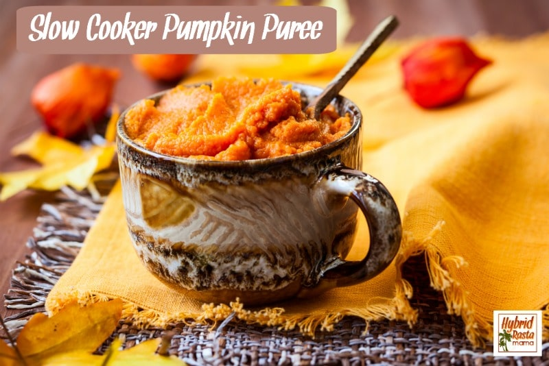 Slow Cooker Pumpkin Puree