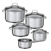 Stainless Steel Pots and Saucepan Set