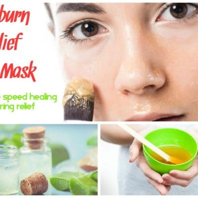 Sunburn Relief Face Mask (2 Ways)