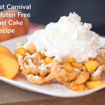 The Best Carnival Style Gluten Free Funnel Cake Recipe