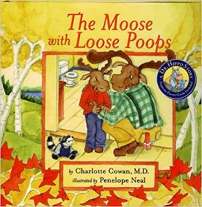 The Moose With Loose Poops - Books About Poop