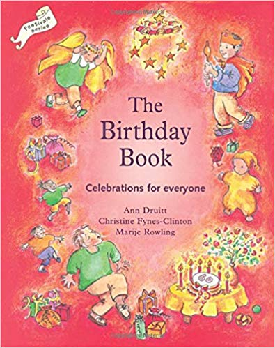 The Waldorf Birthday Book book cover