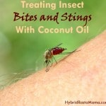 Treating Insect Bites and Stings Naturally With Coconut Oil