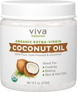 Viva Natural Coconut Oil jar