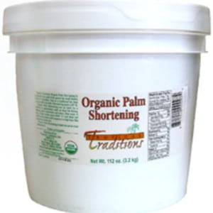 What is palm oil shortening